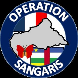 Il logo dell'operazione in Repubblica Centrafricana