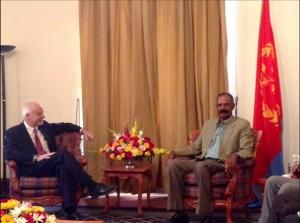 Il viceministro Pistelli ad Asmara (fonte esteri.it)