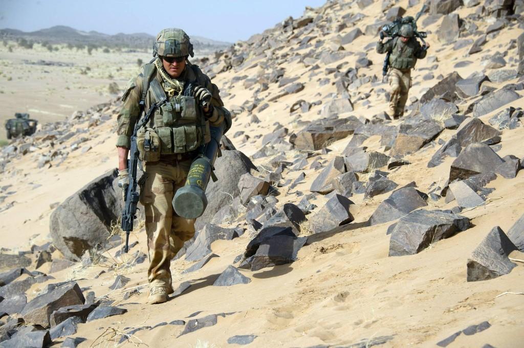 Soldati francesi impegnati nel Sahel